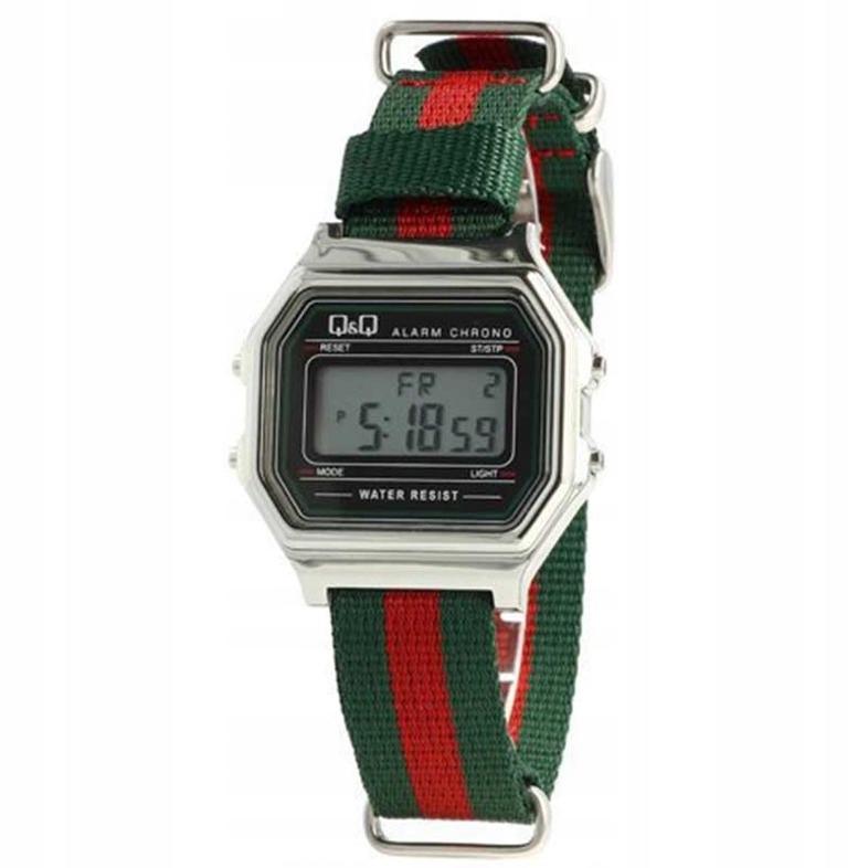 Zegarek Q&Q Retro LCD M177-801 +oryg pudełko