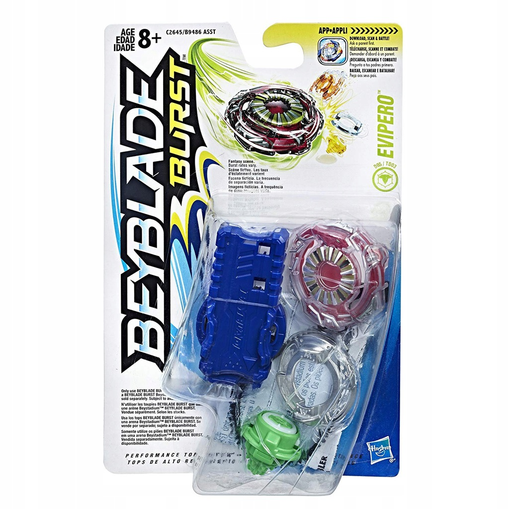 Hasbro Beyblade Zestaw Startowy Evipero C2645