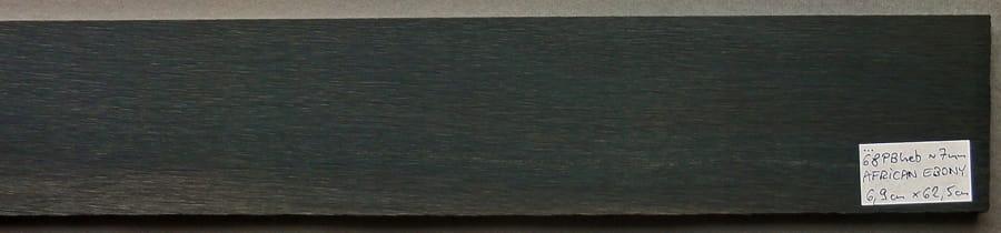 Drewno HEBAN na podstrunnicę gitary, basu, 68PBheb