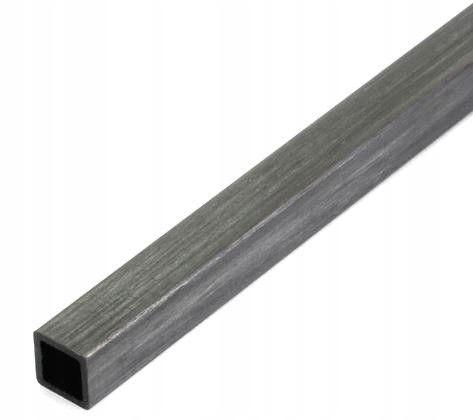Profil węglowy kwadratowy 4,0/4,0 x 1000 mm otwór