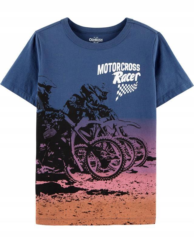 OSHKOSH T-shirt Moto Cross 10-12 152