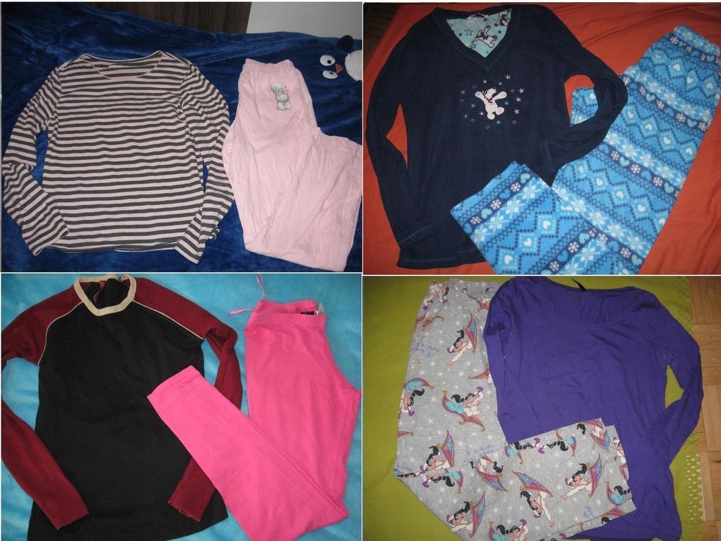 zestaw 2 piżamy pidżama piżam George Gap 36 S 38 M