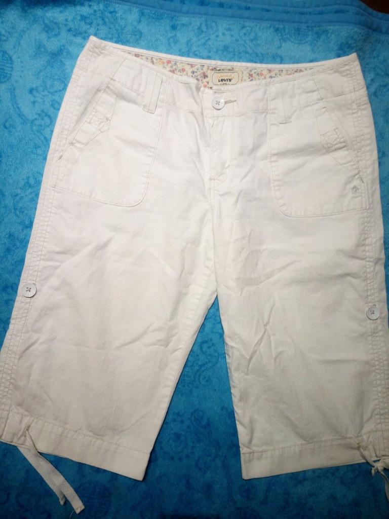 Spodnie materiałowe rybaczki M Levis
