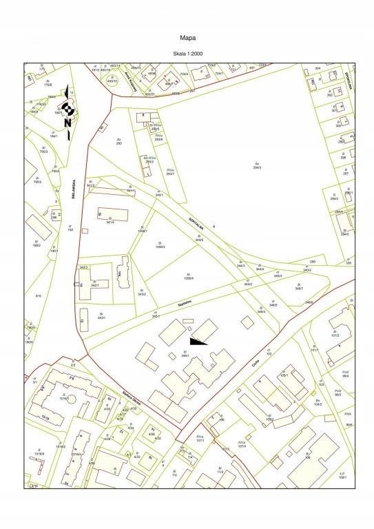 Działka, Dzierżoniów, 3798 m²
