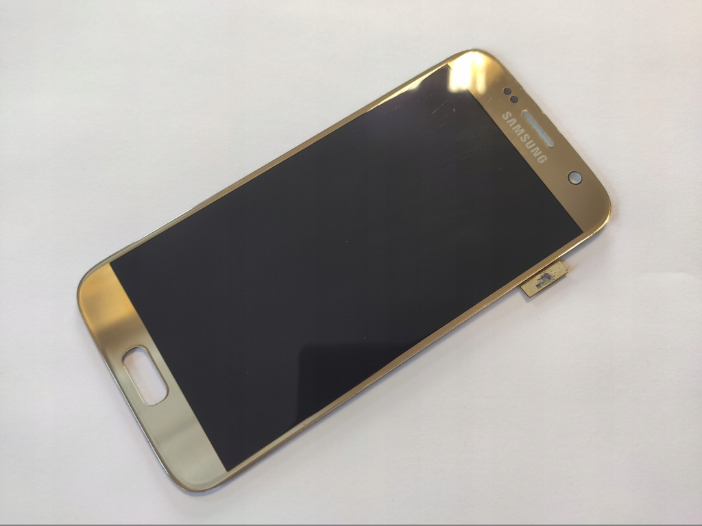 Wyświetlacz Amoled Samsung Galaxy S7 G930F złoty