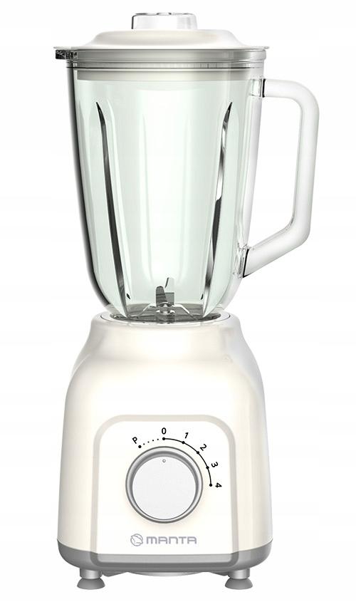 Blender kielichowy Manta SILVIA II 400 W biały