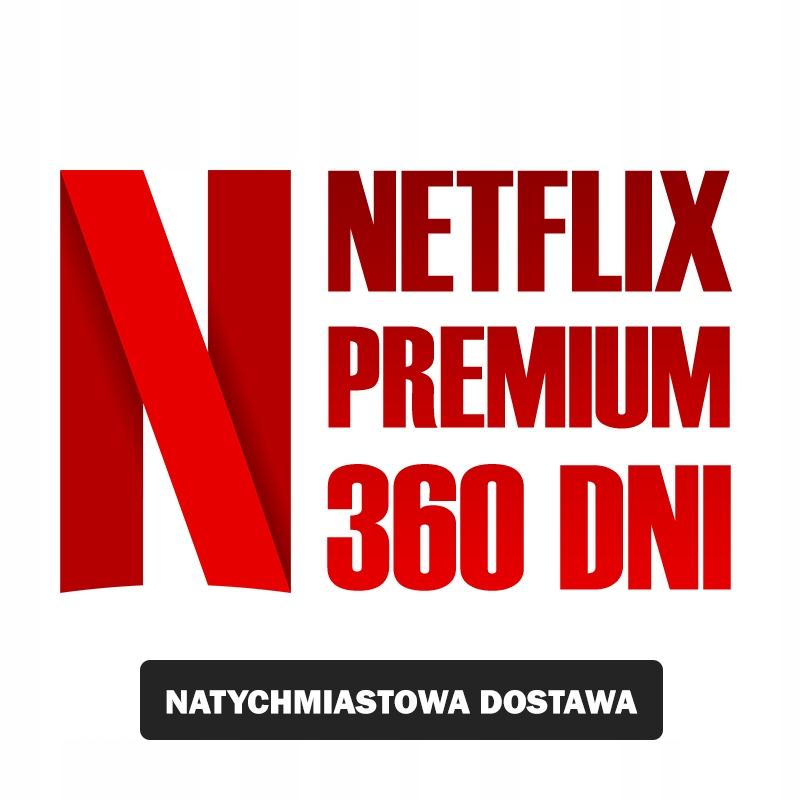 Netflix Premium 365dni Karta Podarunkowa 8658941498 Oficjalne Archiwum Allegro