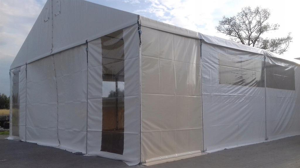 Usługa porządkująca teren demontaże hal i namiotów