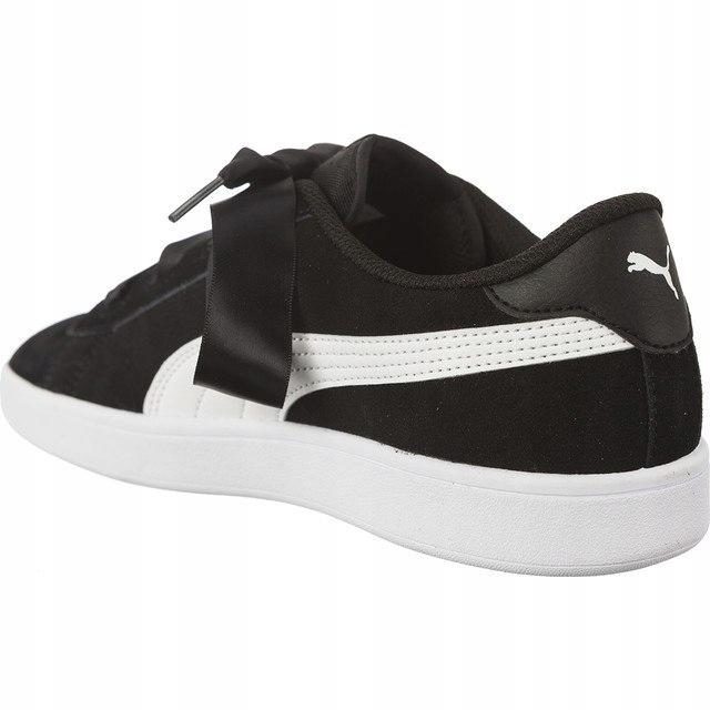 Sneakersy Buty Damskie Puma SMASH z kokardą 39