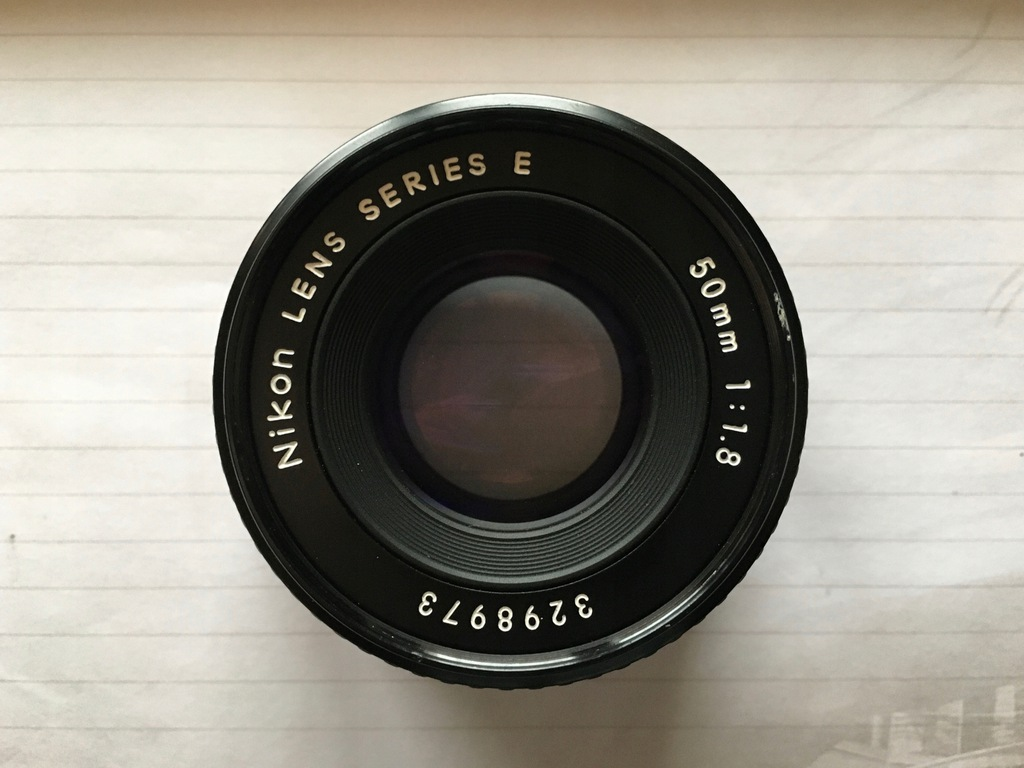Nikon Series E 50 mm f/1.8 AIS NIKKOR
