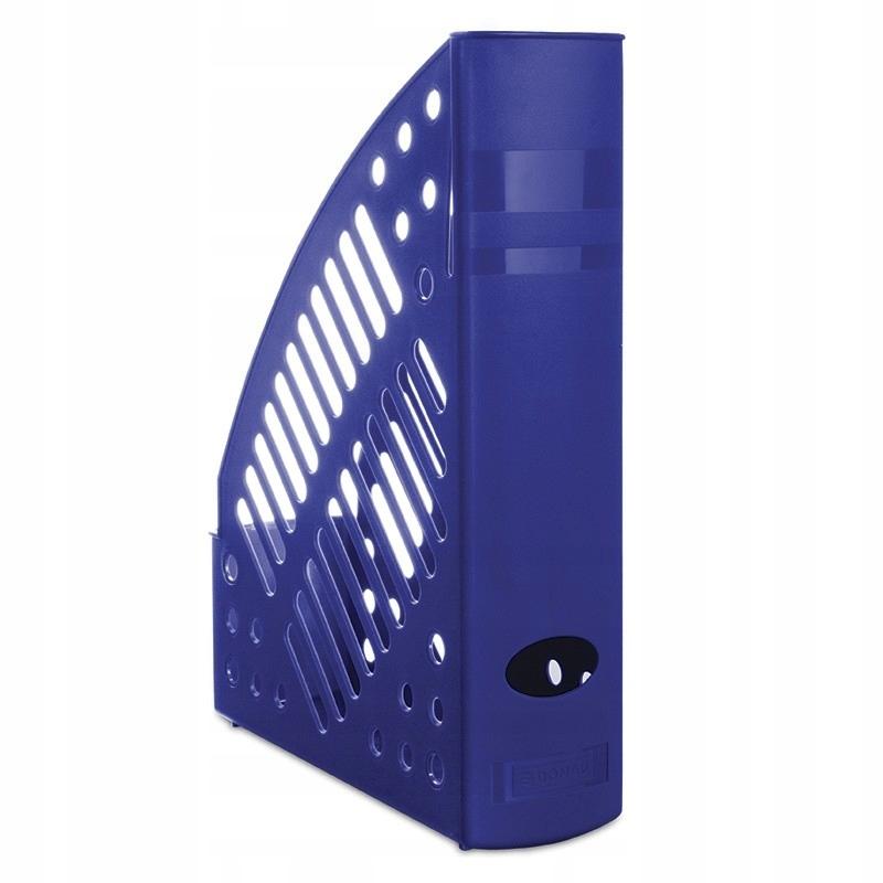 Pojemnik na dokumenty ażurowy A4 niebieski