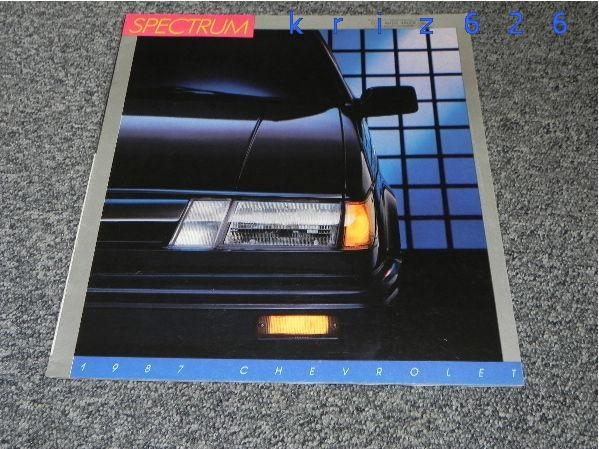 Chevrolet Spectrum - 1987 - USA
