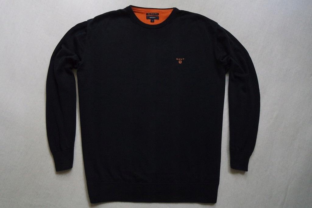 GANT sweter sweterek granatowy logowany modny__3XL