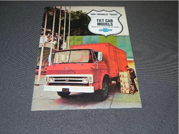 Chevrolet Chevy Trucks Tilt Cab 40-80 - 1968 - USA