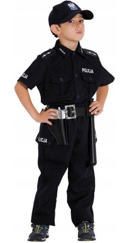 STRÓJ KARNAWAŁOWY POLSKI POLICJANT 116