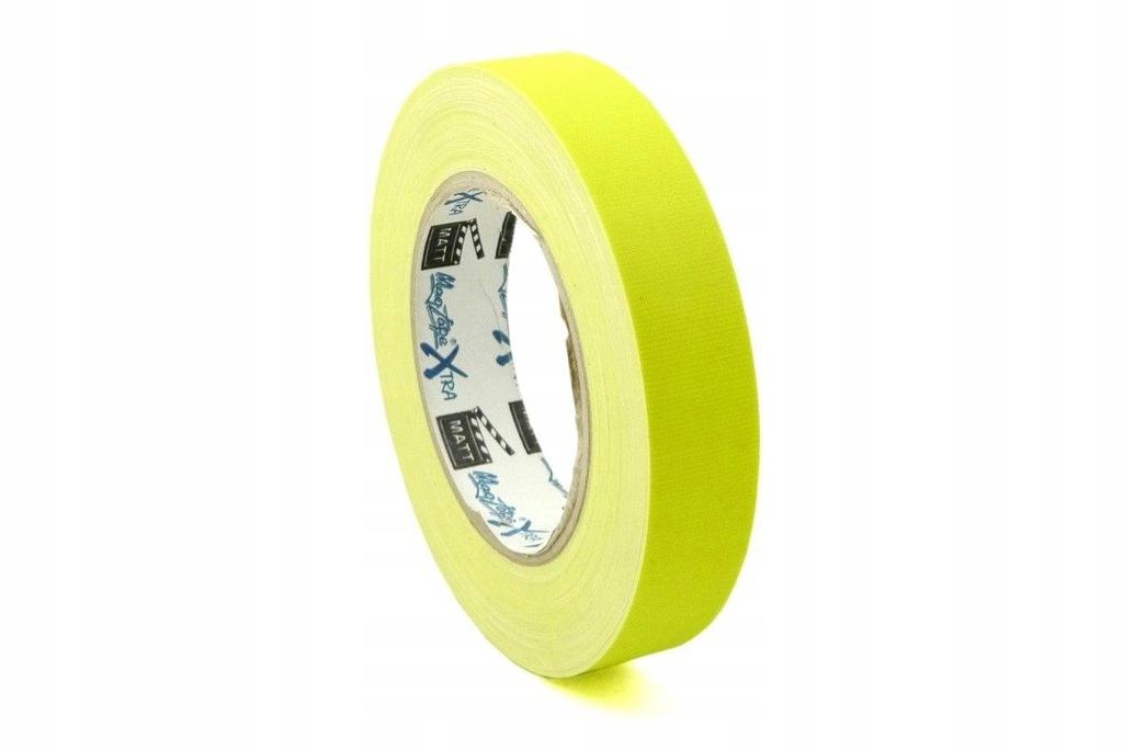 24mmx25m lasotaśma fluorescencyjna żółta MagTape