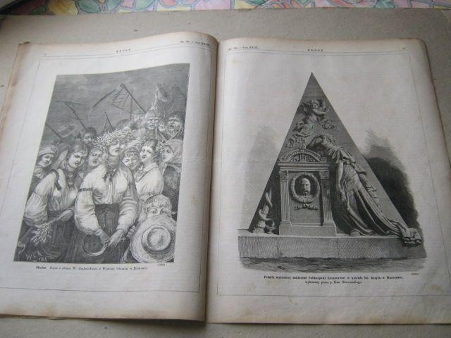 Bochnia Girsztowt dożynki Grabowski okrężne -1879r