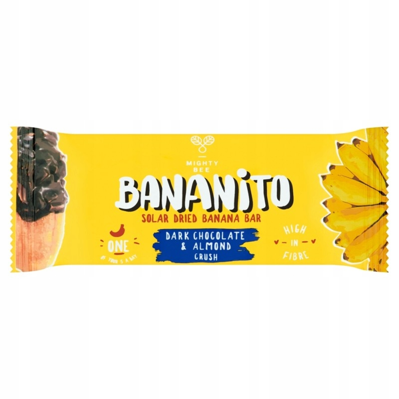 Bananito szuszone banany w czekoladzie z migdałami