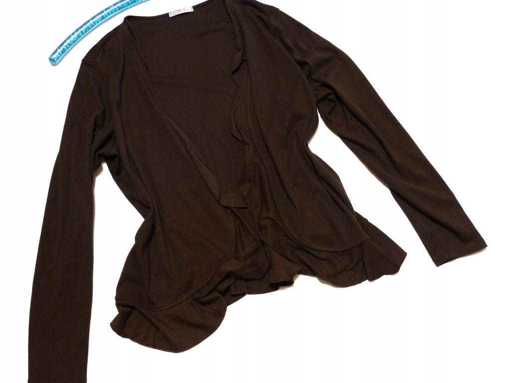 _M&S_Piękny sweter -narzutka do pracy _R.50/52
