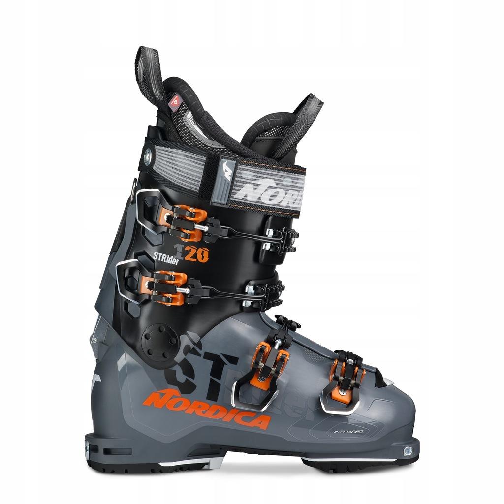 Buty narciarskie Nordica Strider 120 DYN Szary 26/