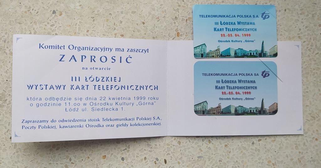 karnet zaproszenie + karta 684