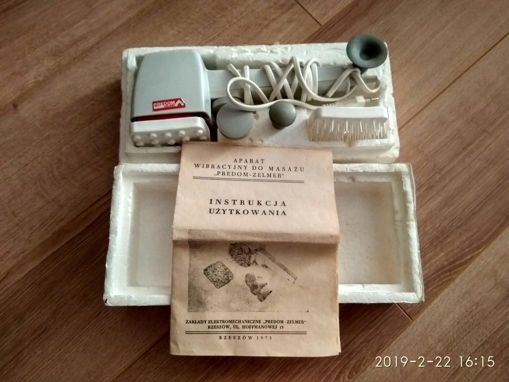 Aparat Wibracyjny Do Masazu Predom Zelmer 7912392350 Oficjalne Archiwum Allegro