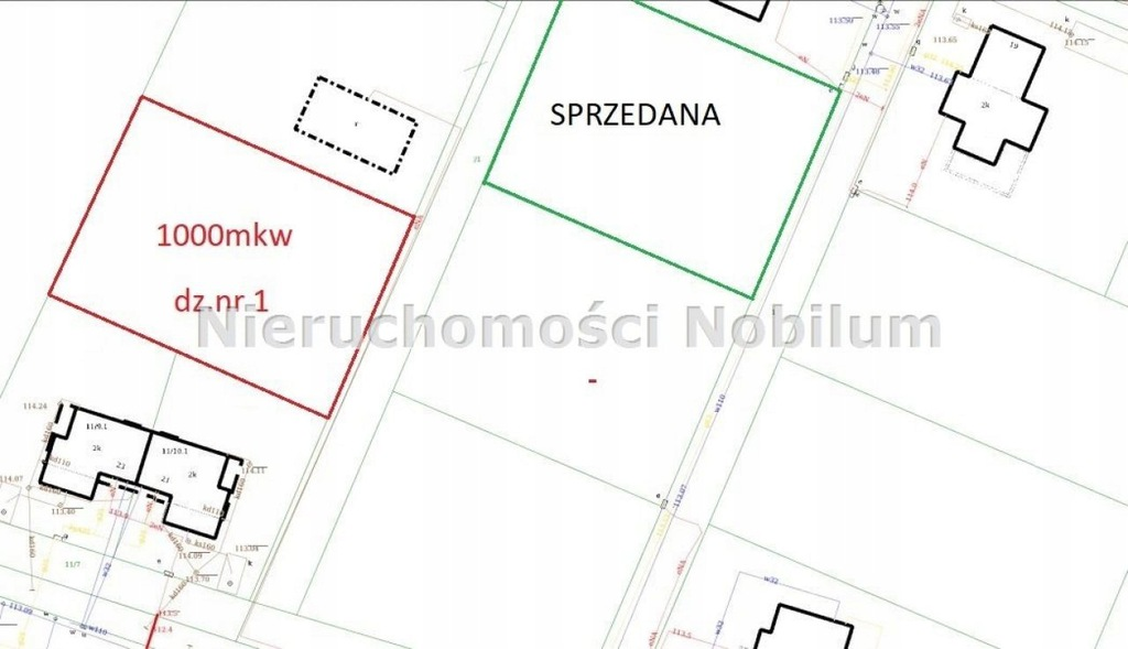 Działka, Wrocław, Fabryczna, Marszowice, 1000 m²