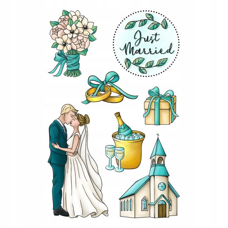 Happy scrap - stemple- ROMANTIC WEDDING - CEREMONY