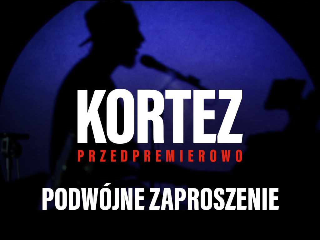 Kortez / zaproszenie / Poznań, 23.01.2020