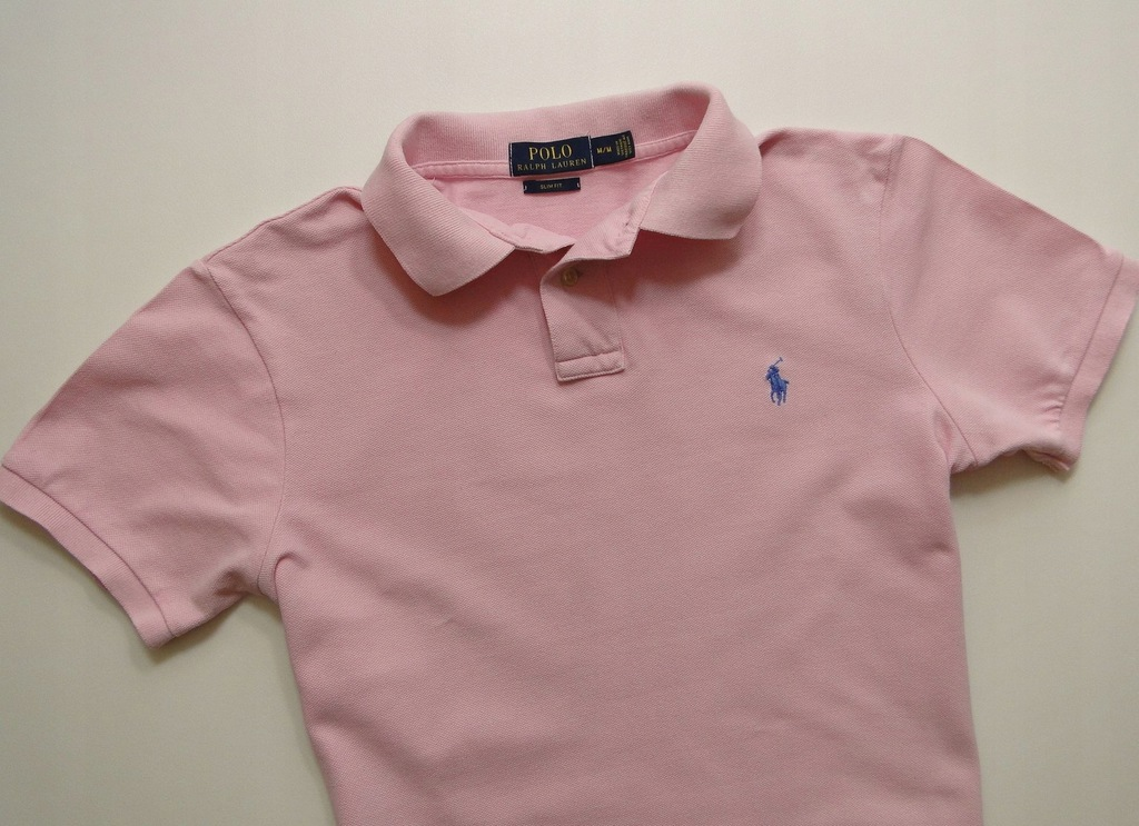 Koszulka Ralph Lauren Polo Slim Fit Pink / M