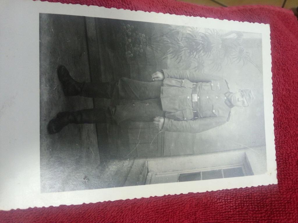 Zołnierz Wehrmachtu. - fot. Trier