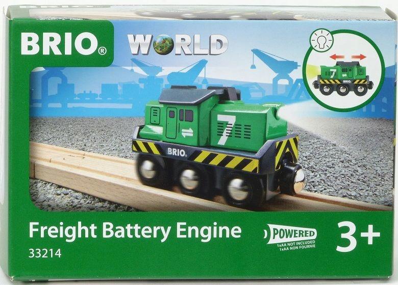 Lokomotywa brio World 33214 zielona