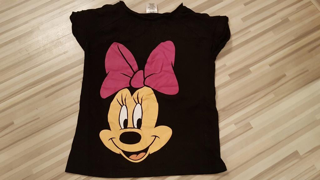 Disney tshirt bluzka roz 140