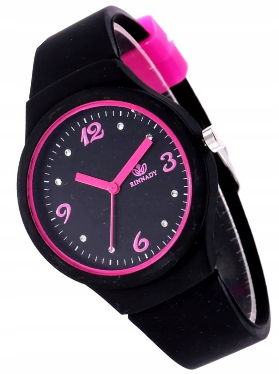 KOLOROWY ZEGAREK JELLY WATCH CANDY DAMSKI ZN45