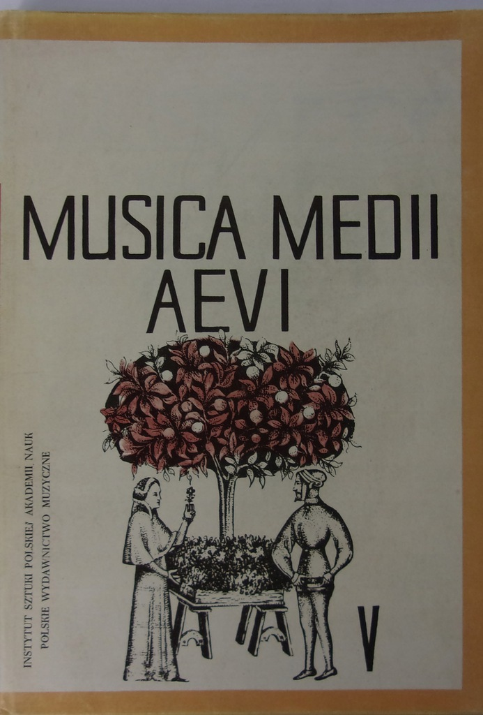Jerzy Morawski - Musica Medii Aevi V