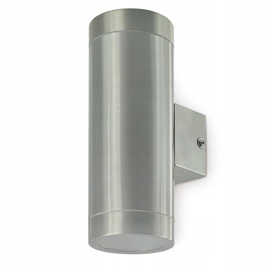 Kinkiet zewnętrzny Lampa elewacyjna 2xGU10 inox