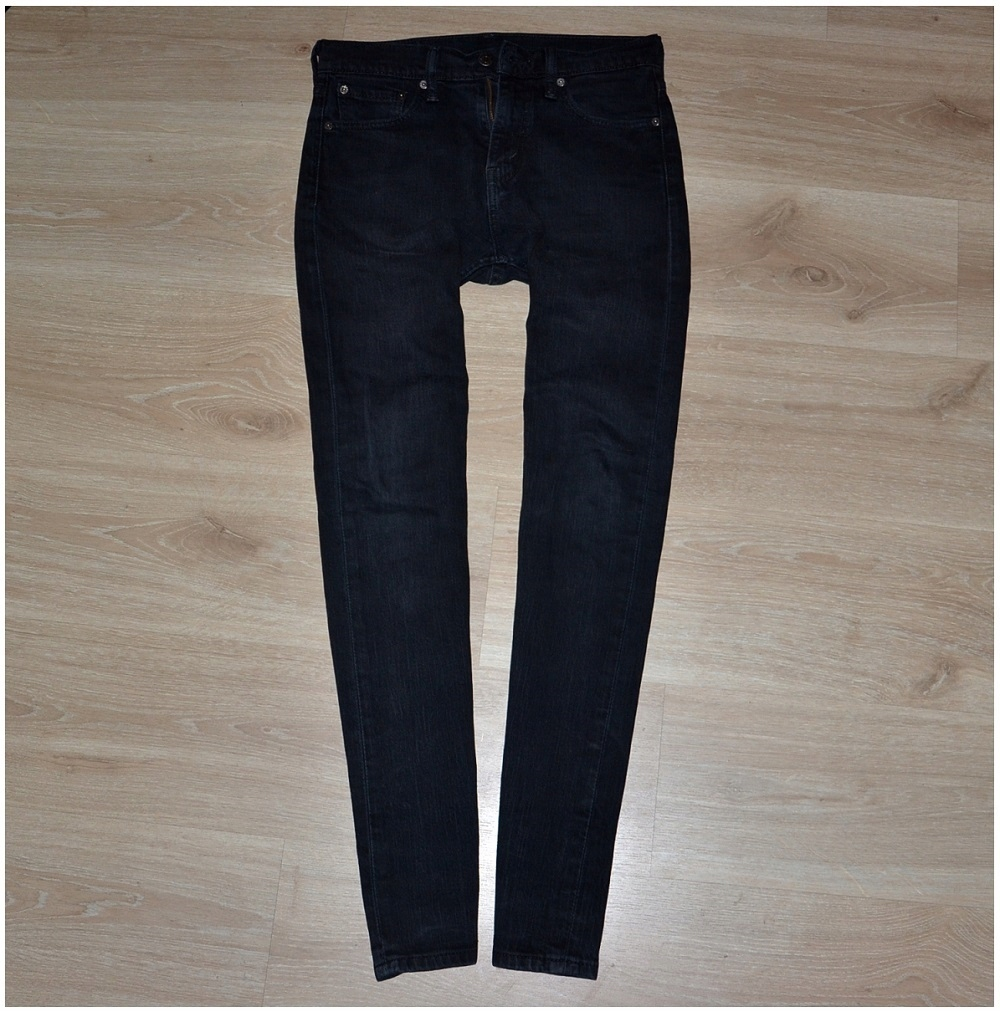 Levis jeans spodnie meskie slim W28 L32 Pas-76 cm