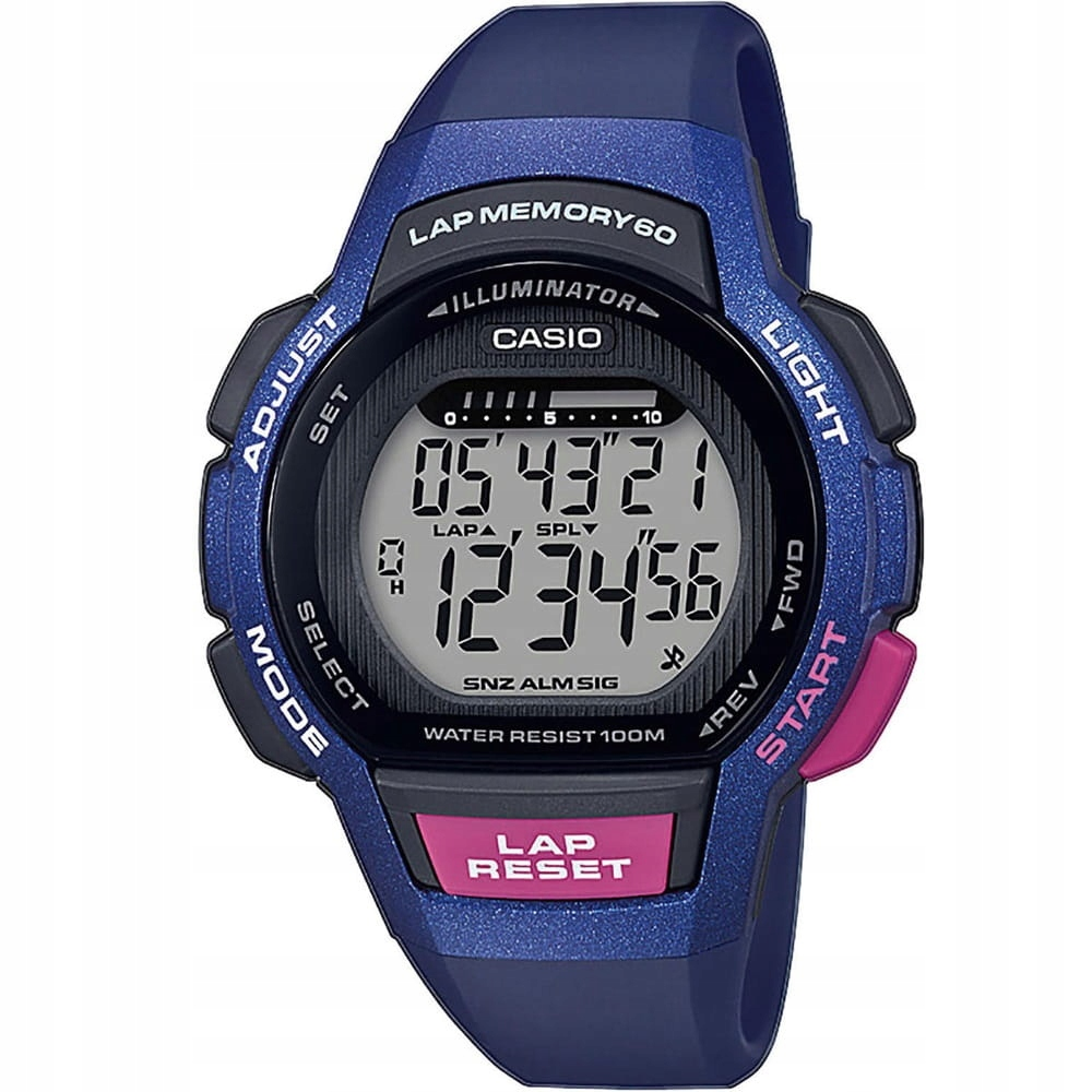 Zegarek damski Casio LWS-1000H-2A