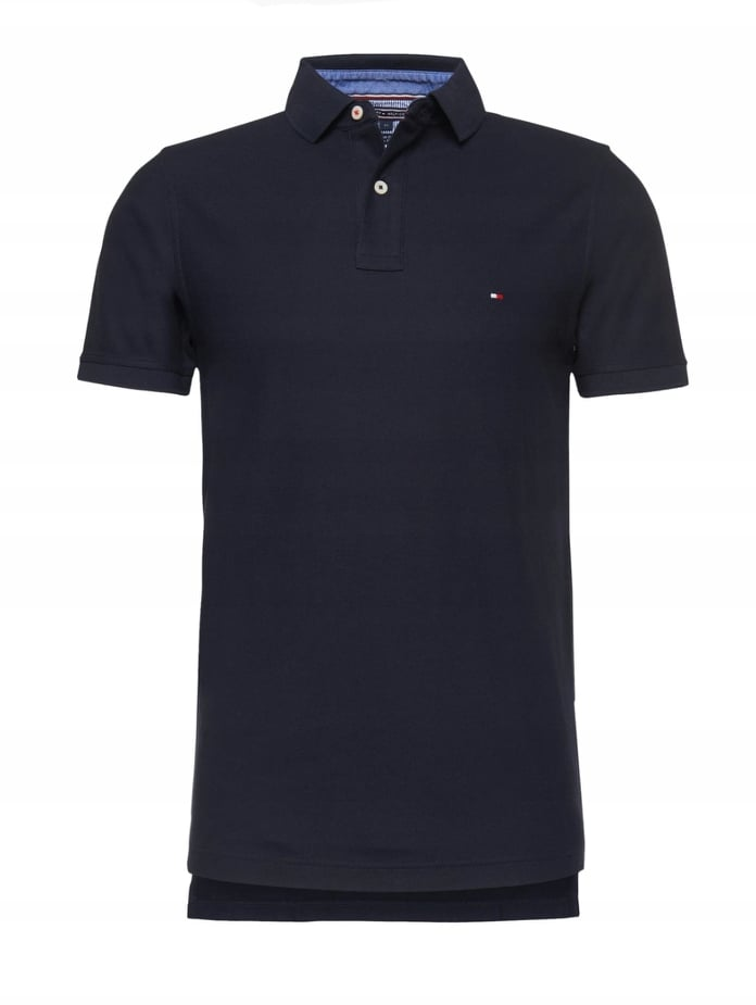 Koszulka męska Polo Tommy Hilfiger TH granat L