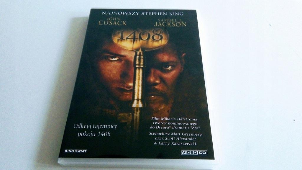 1408 (2007) DVD John Cusack Samuel L. Jackson