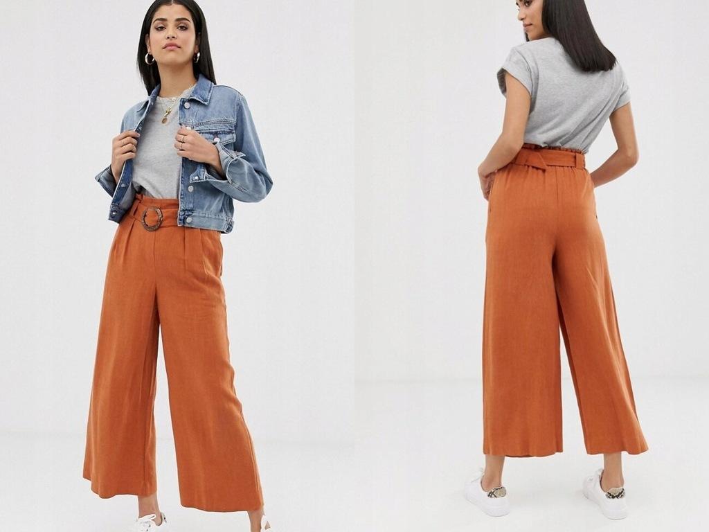 New Look Tall Spodnie z paskiem XL/42