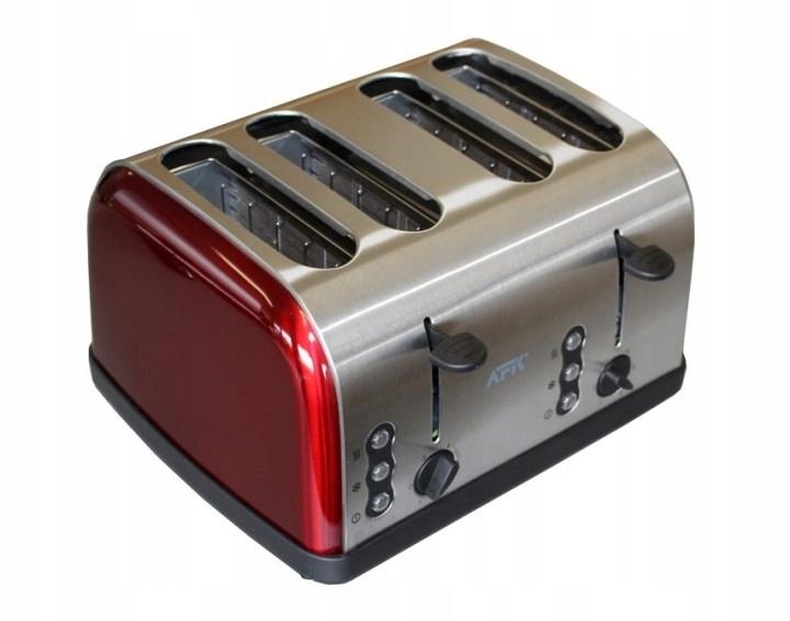 Toster, opiekacz 1500 Watt DETO-1200 czerwony