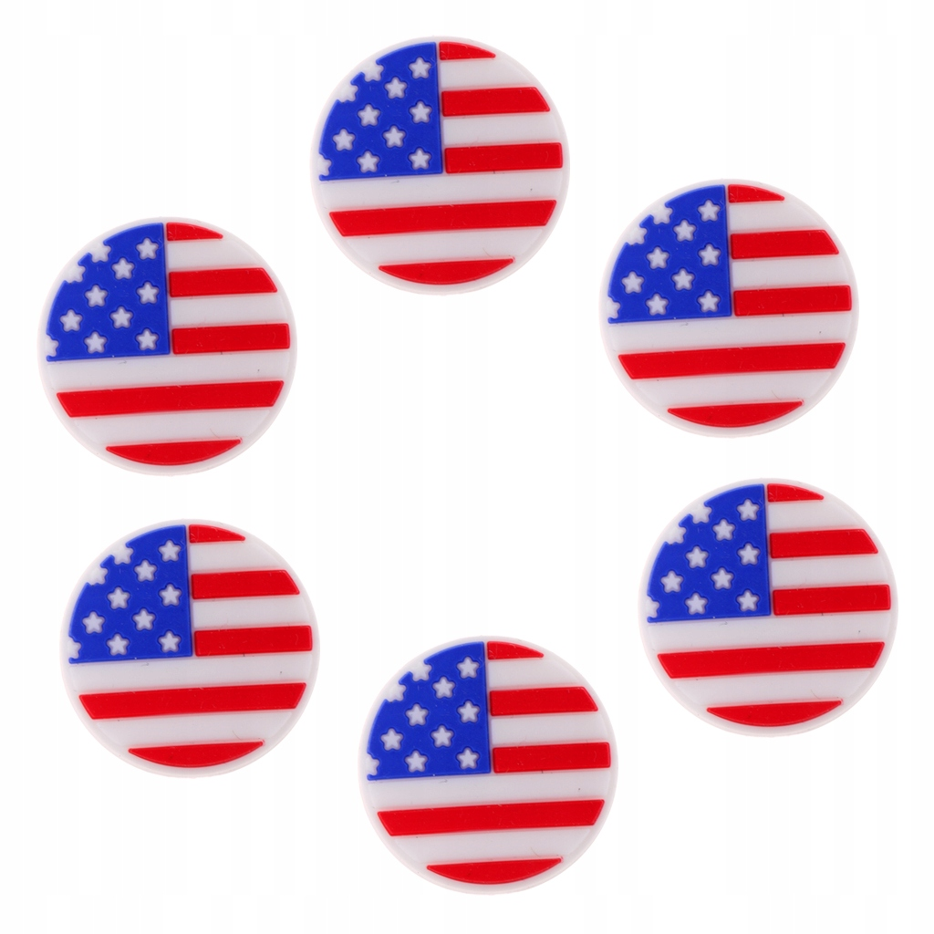Tłumik drgań tenisowych - 6 Flaga USA