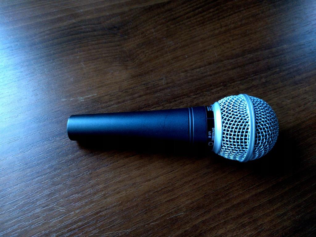 SHURE SM48 -- mikrofon dynamiczny przewodowy IDEAŁ