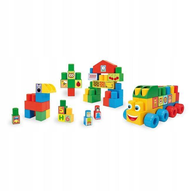 Wader, Klocki Middle Blocks zestaw basic