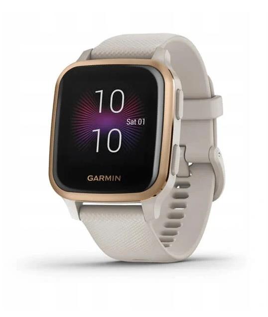 Smartwatch Sportowy Garmin Venu SQ MUSIC Złoty