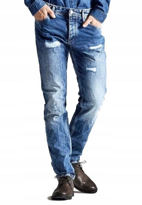 JACK JONES vintage REGULARNE jeansy MĘSKIE _ 36/32