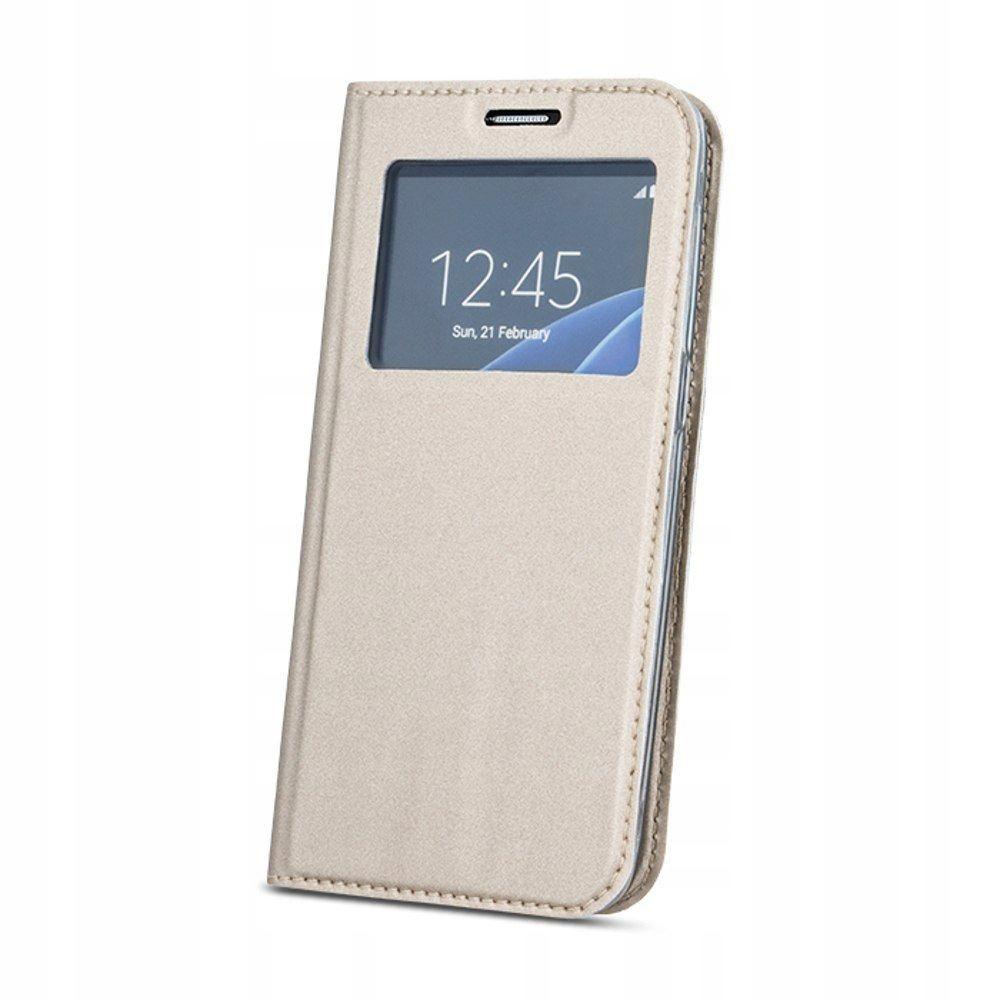 Pokrowiec Smart Look do Huawei Mate 20 Lite złoty