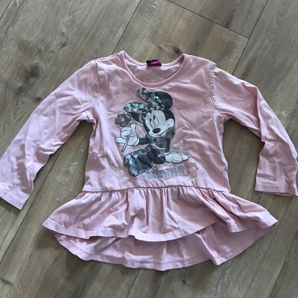 Tunika Minnie 98 Disney różowa bluzka