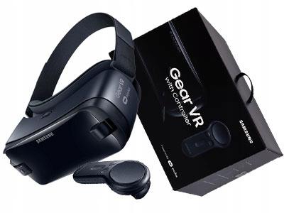 GOGLE Samsung GEAR VR 3 z kontrolerem SM-R324